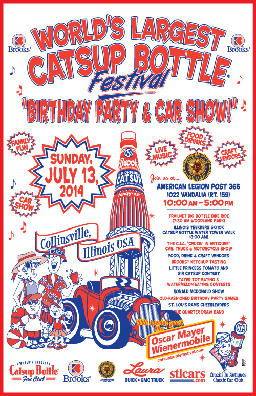 2014 catsup bottle festival