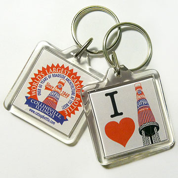 catsup bottle keychains
