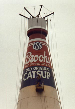 World S Largest Catsup Bottle Collinsville Illinois